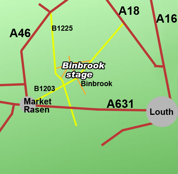 binbrook rally stage
