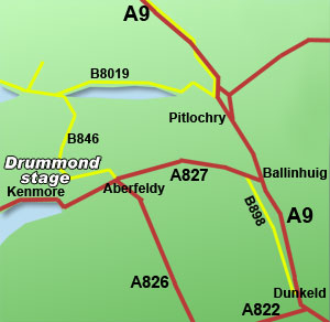 drummond hill rally stage
