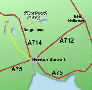 glentrool rally stage