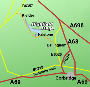 highfield rally stage