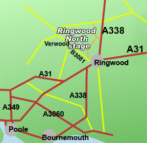 ringwood north rally stage