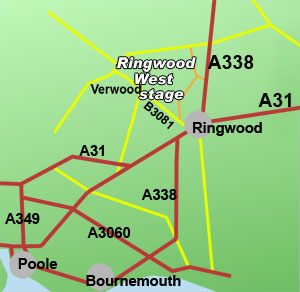 ringwood west rally stage