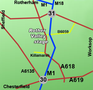 rother valley rally stage